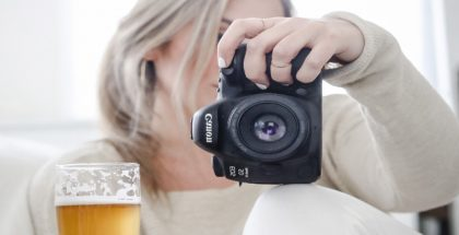 Women behind the lens - beer photography