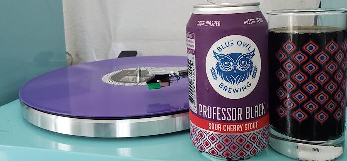 Blue Owl Brewing | Professor Black Sour Cherry Stout