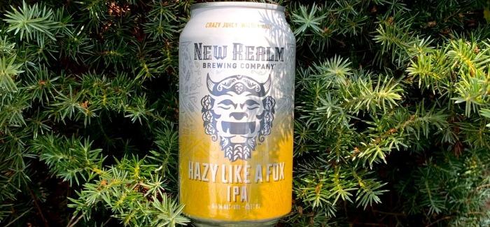 New Realm Brewing Company | Hazy Like a Fox IPA