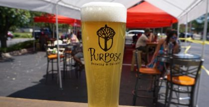 Glass of Purpose Beer