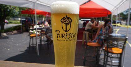 Glass of Purpose Beer