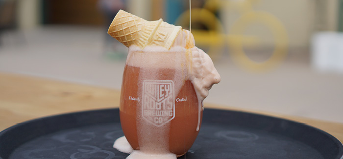 Wiley Roots Brewing Co. Continues to WOW, Turning Beer into Ice Cream