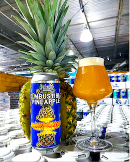 Pontoon Brewing Company    Combustible Pineapple Milkshake IPA