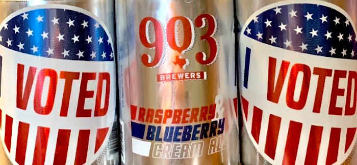 903 Brewing's Voted Beer Series | A Bipartisan Call-To-Action