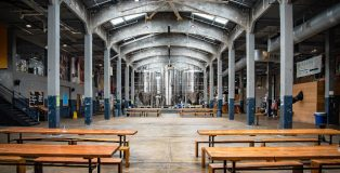 Rhinegeist beer hall