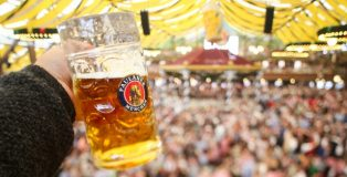 Paulaner Oktoberfest Lager and Beer Hall