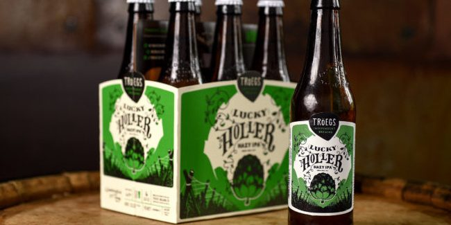 Tröegs Independent Brewing   Lucky Holler Hazy IPA