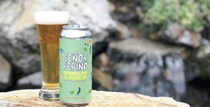 Señor Pepino Cucumber Lime Lager from Epic Brewing. Photo by Tim Haran