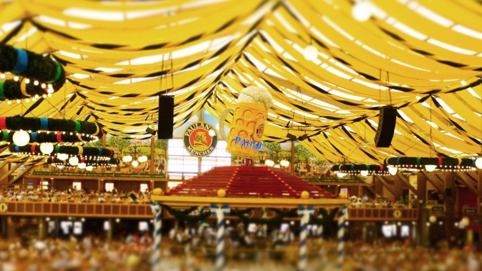 Paulaner Oktoberfest Tent in Munich