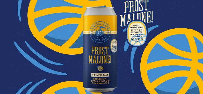 WeldWerks Brewing Releasing Prost Malone to Celebrate Nuggets Season