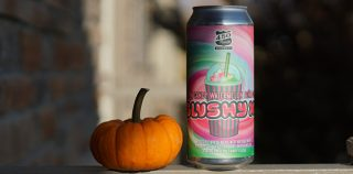 Halloween Beer Treat | 450 North Brewing Cotton Candy Watermelon Piña Colada Slushy XL