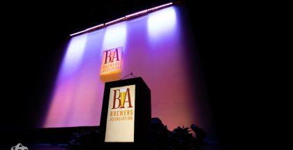 GABF Awards Podium
