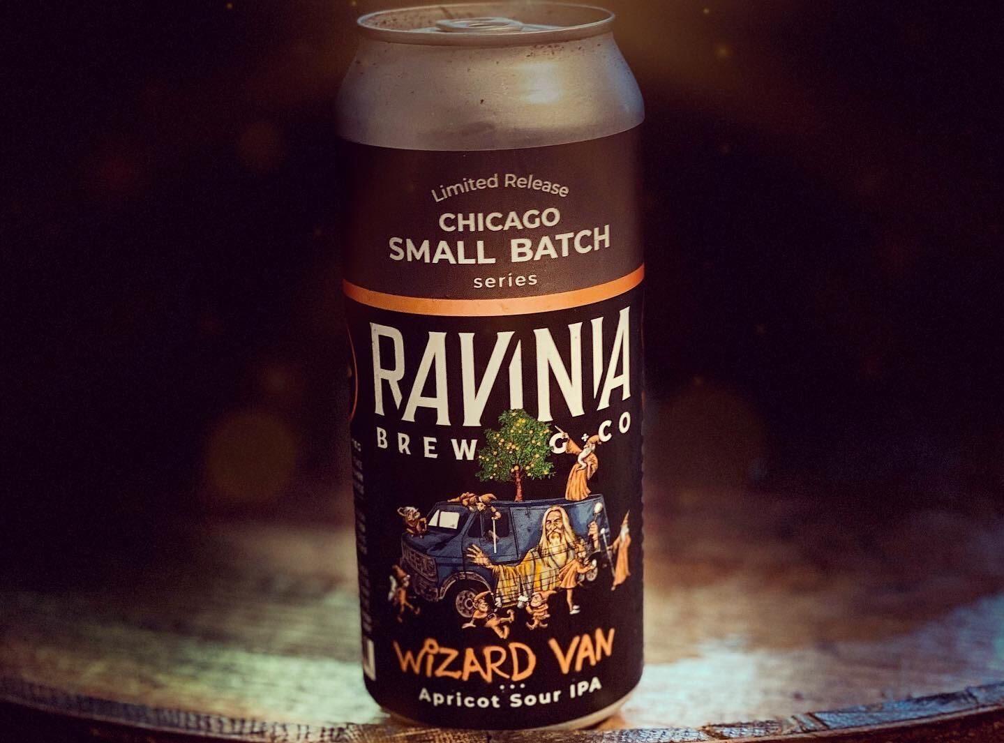 Wizard Van Apricot Sour IPA