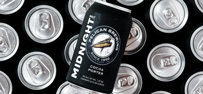 Halloween Beer Treat | Pelican Brewing Midnight Malt Cocoa Porter