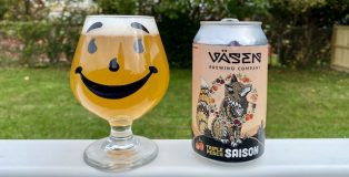 Väsen Brewing Triple Peach Saison