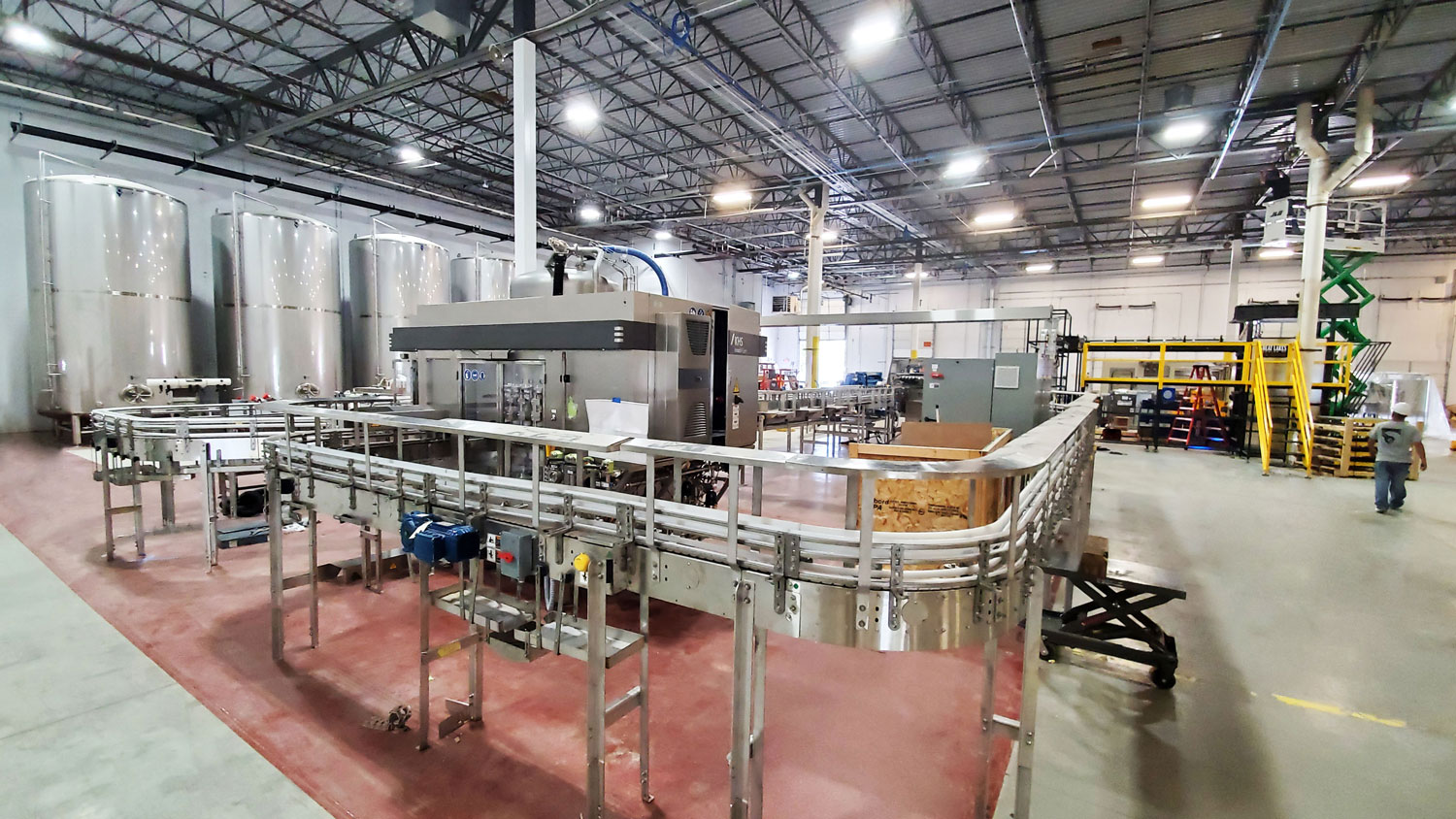Great Lakes Brewing Warehouse Canning Line