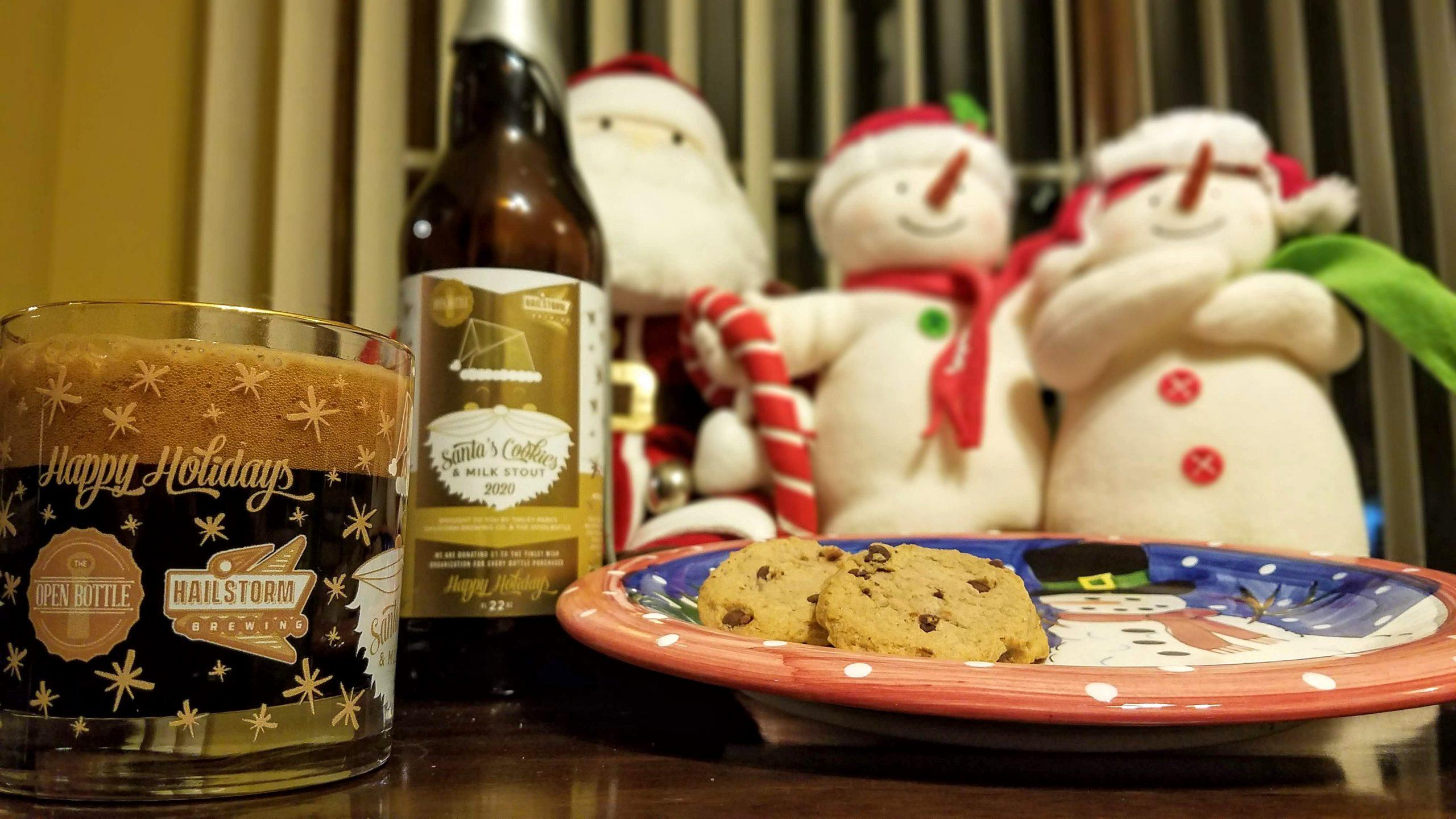 2020 Santa's Cookies & Milk Stout