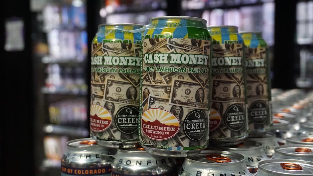 Telluride Brewing Cash Money