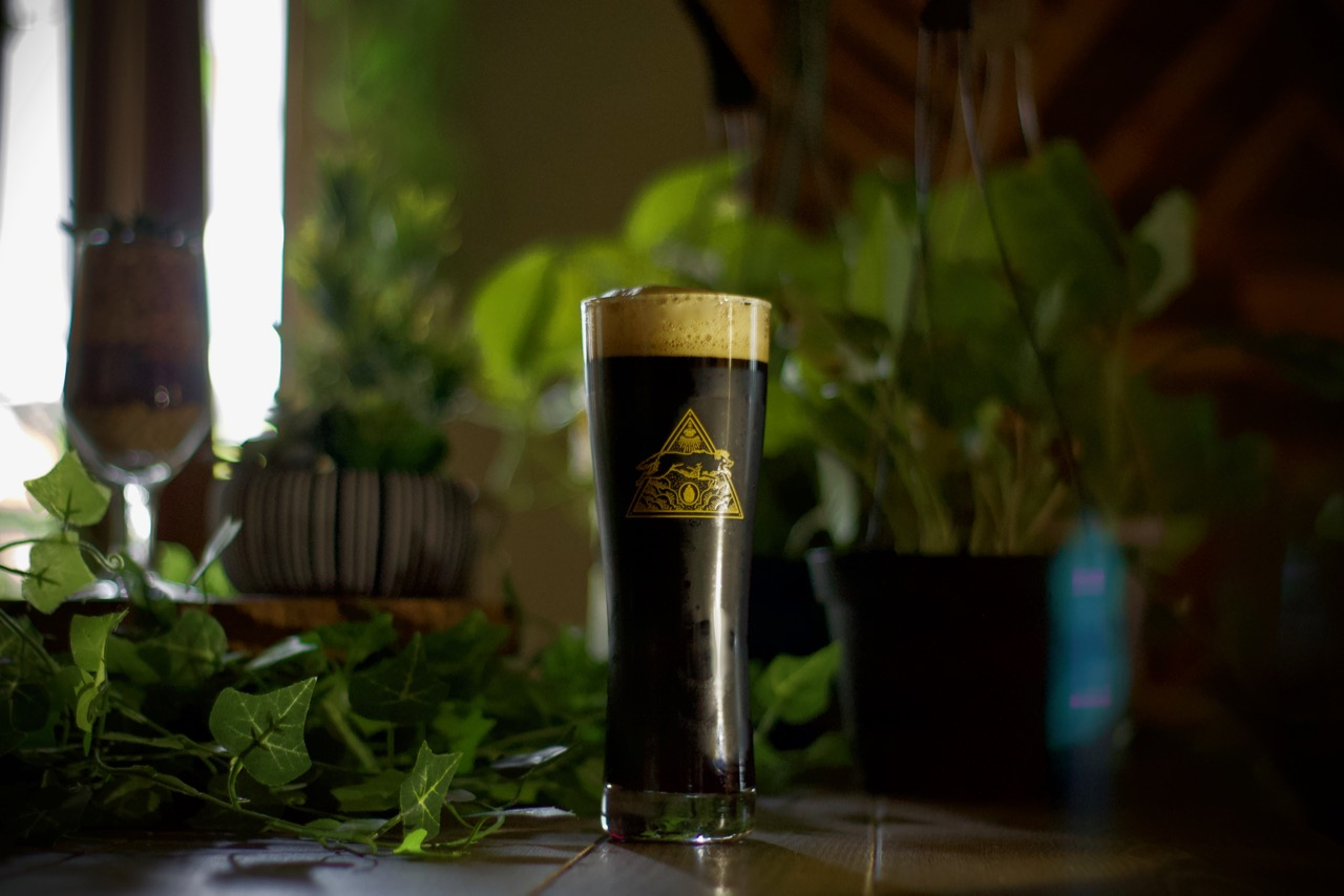 The Good Wolf Brewing Needle and Resin Schwarzbier Forest Beer