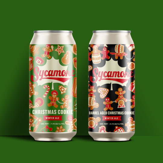 Sycamore Christmas Cookie Winter Ale