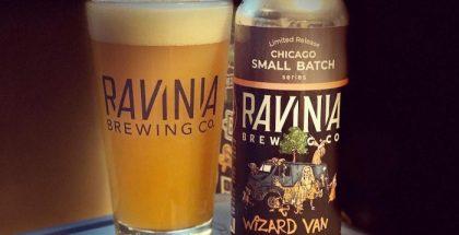 Ravinia Brewing Wizard Van Apricot Sour IPA