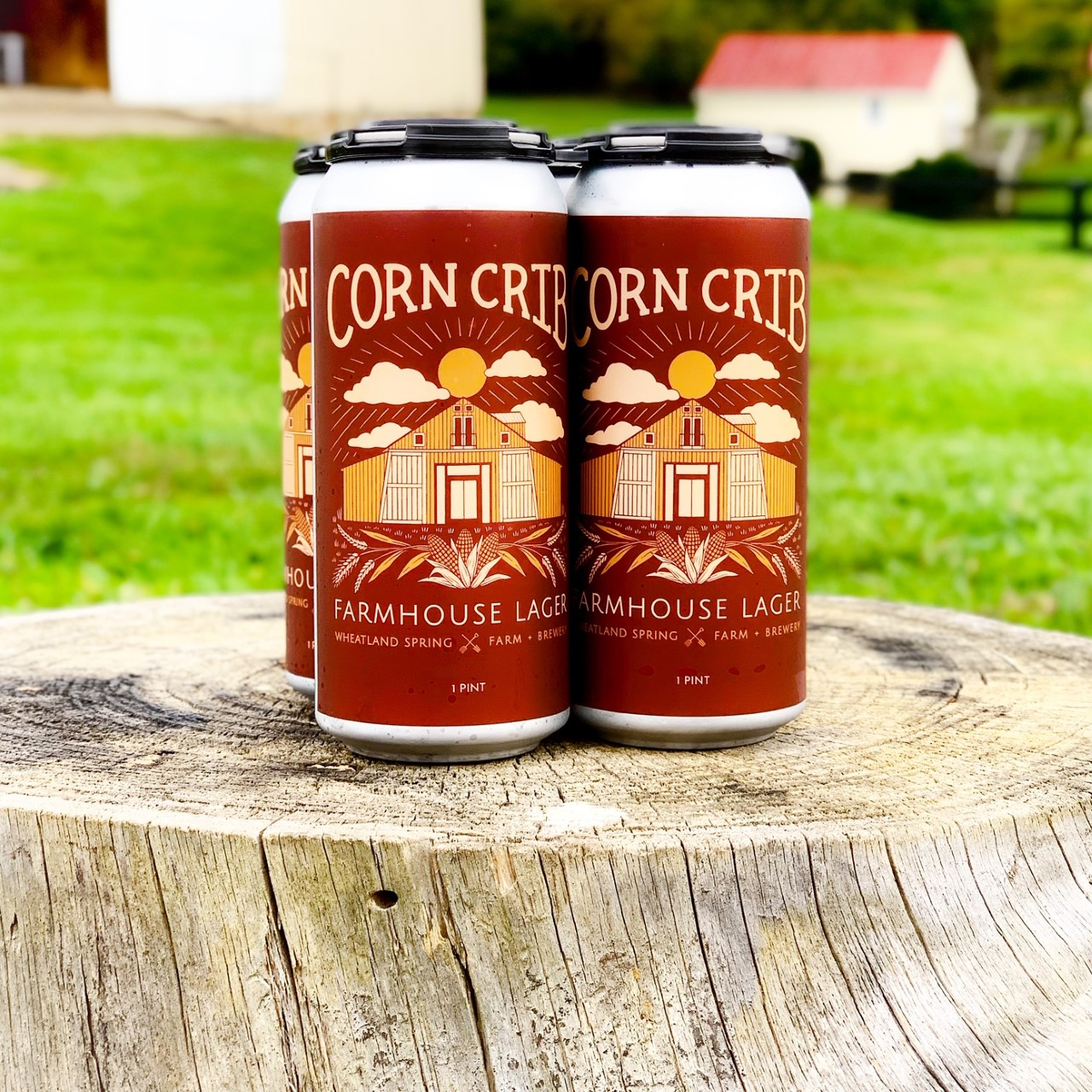 Corn Crib Farmouse Lager