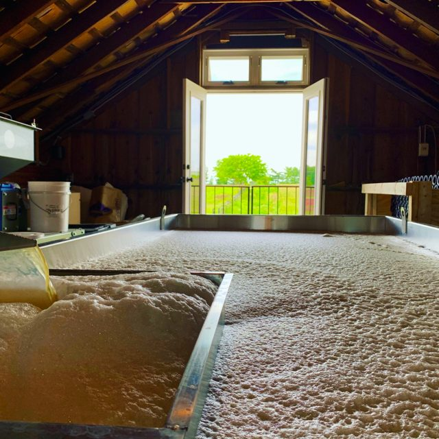 Wheatland Spring Farm + Brewery coolship
