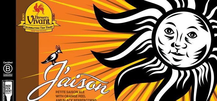 Brewery Vivant celebrates 10-year anniversary with release of J'aison Ale