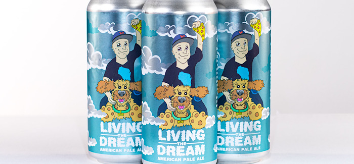 Living the Dream 16oz cans