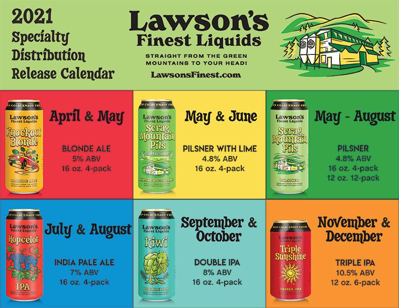 Comprehensive 2021 Beer Release Calendar Roundup
