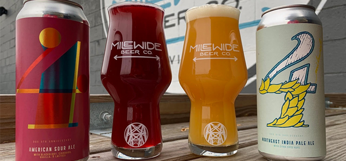 Mile Wide Beer Co. Celebrates Fourth Anniversary with Two Beer Releases