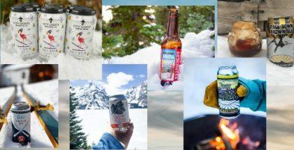 Ski themed beers