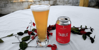 Central State Brewing Table Rustic Blonde Ale