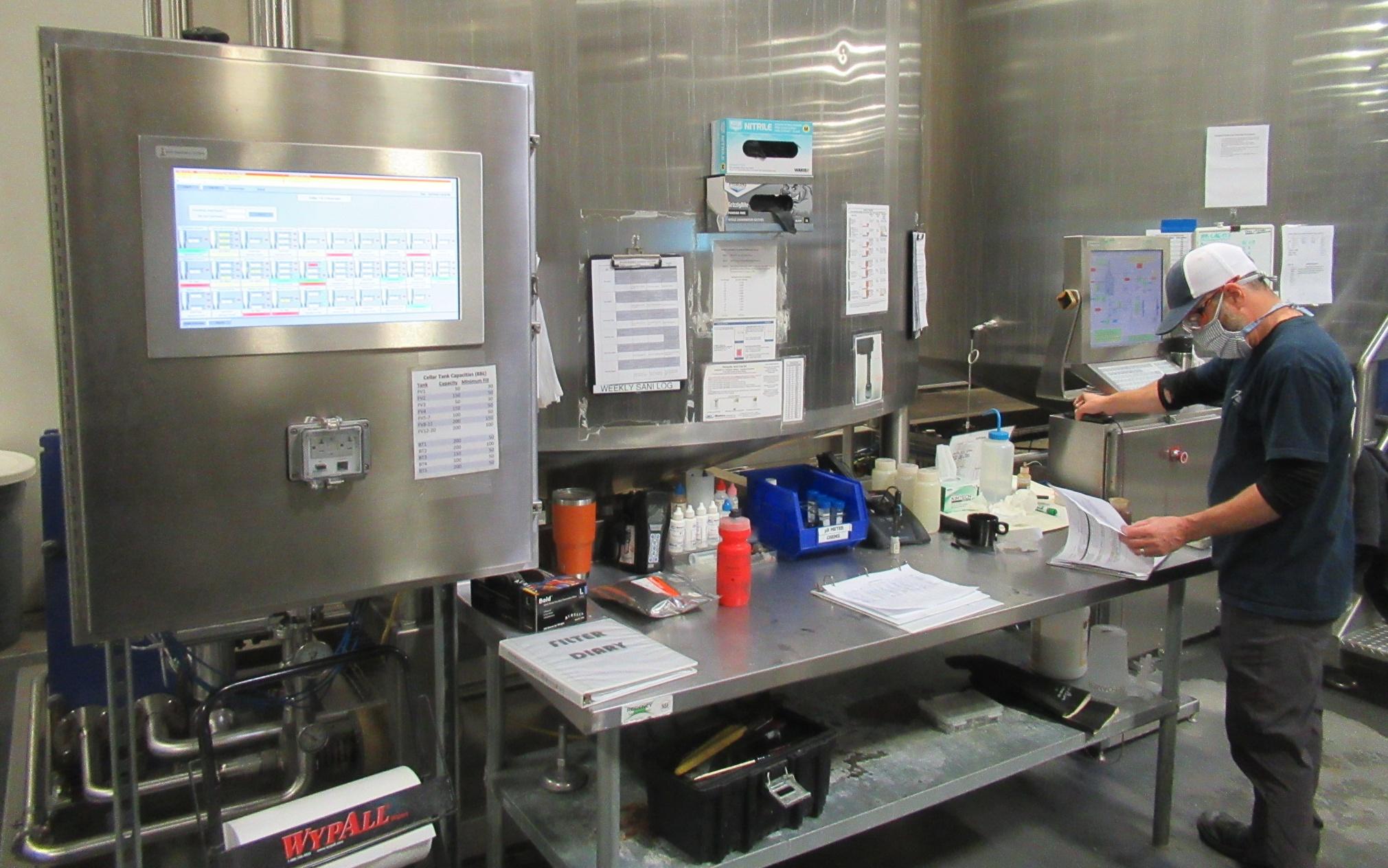 Sleeping Giant's Brewing Equipment