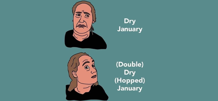 Ultimate 6er | Beers for (Double) Dry (Hopped) January