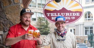 Chris Fish (left) Tommy Thatcher (right) Telluride Brewpub & Taqueria