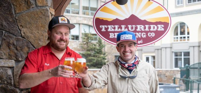 Chris Fish (left) Tommy Thatcher (right) Telluride Brewpub & Taqueria