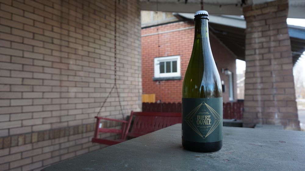 Our Mutual Friend Brewing Biere Ovale