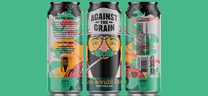Against the Grain Brewery | Loo-a-vuhl Pale Hazy Pale Ale