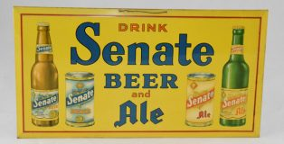 Vintage Senate Beer Advertisement