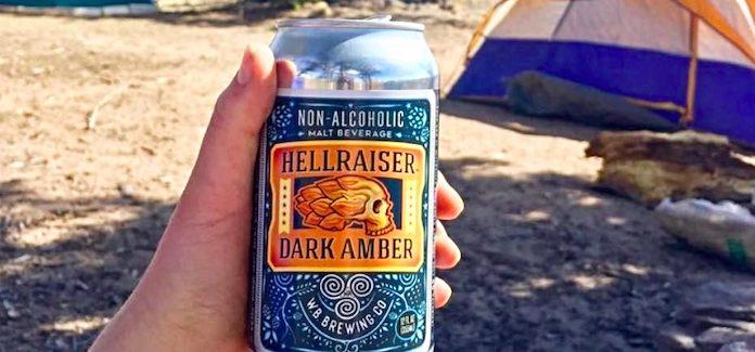 Wellbeing Brewing Company | Hellraiser NA Dark Amber
