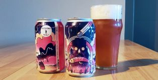 Wulver IPA cans and nonic