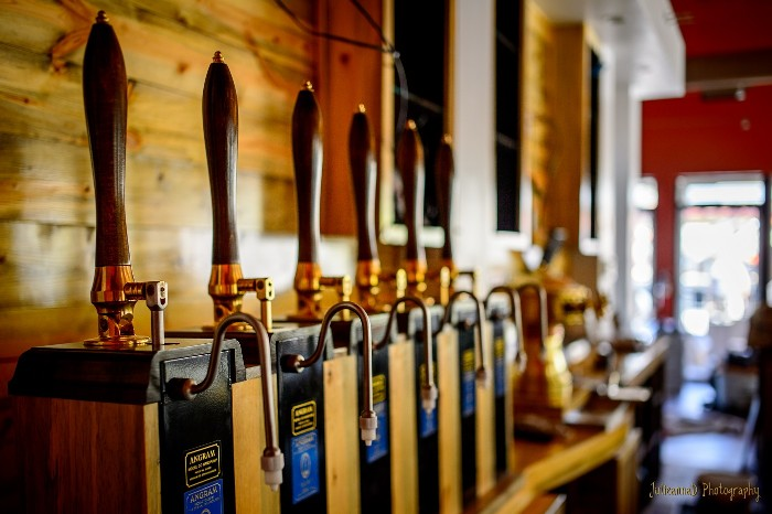 beer engines at McClellan's