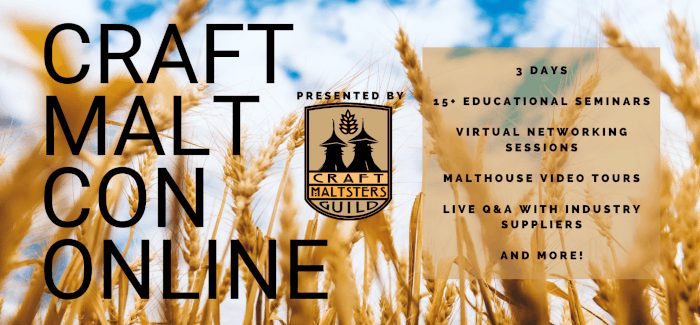 Takeaways From Craft Malt Con (Online) 2021