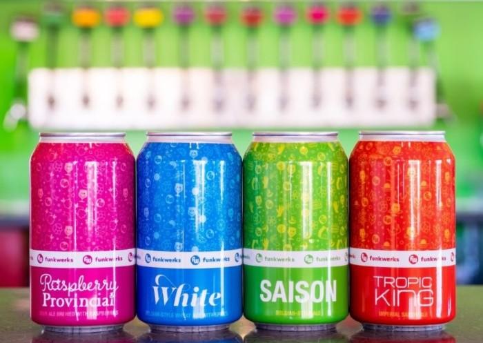 Funkwerks Year-round cans