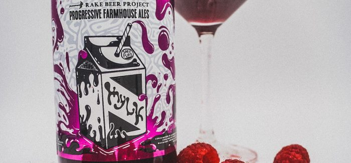 Rake Beer Project Raspberry Mylk