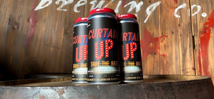 curtain up beer