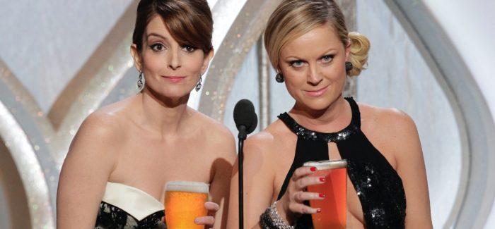 Golden Globes Tina & Amy Beers