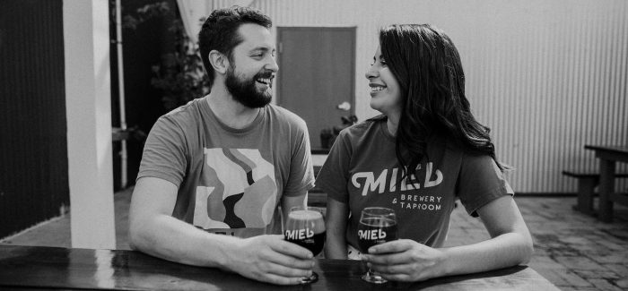 The Happy Couple Behind Miel Brewery & Taproom