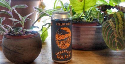 Cellar West Artisan Ales Lickskillet Kolsch